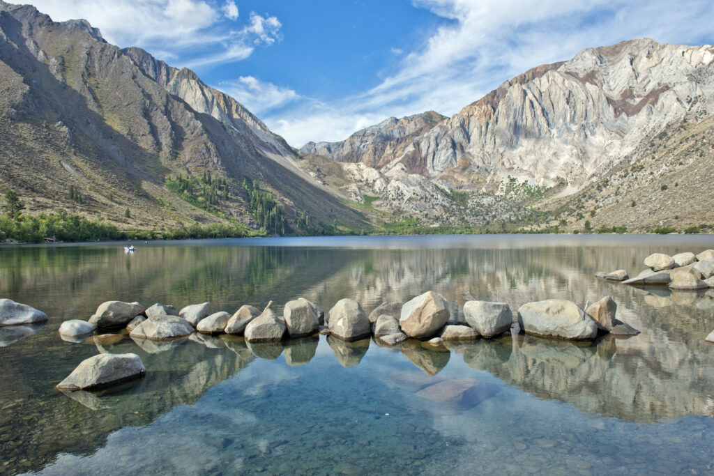 Convict Lake in the Eastern Sierras.