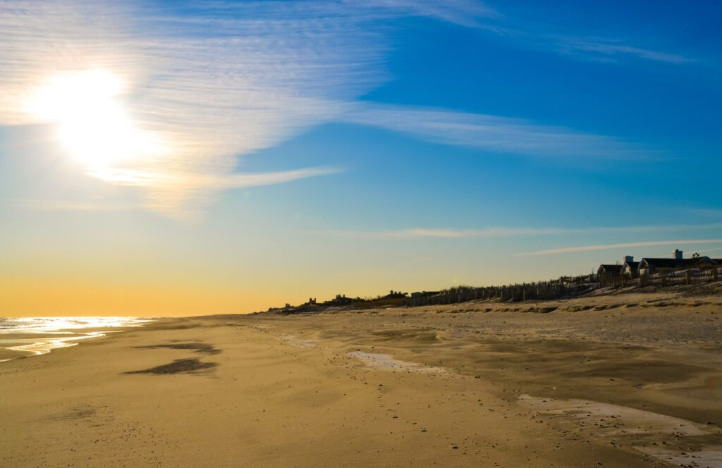 Coopers Beach in New York