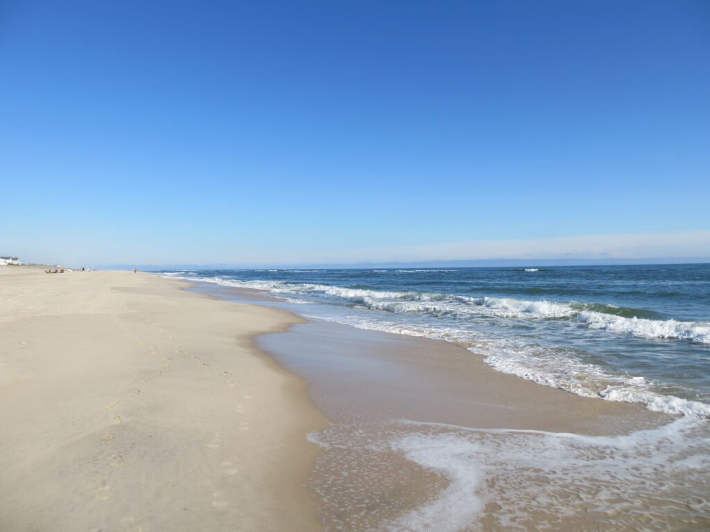 Coopers Beach in Southampton, New York.