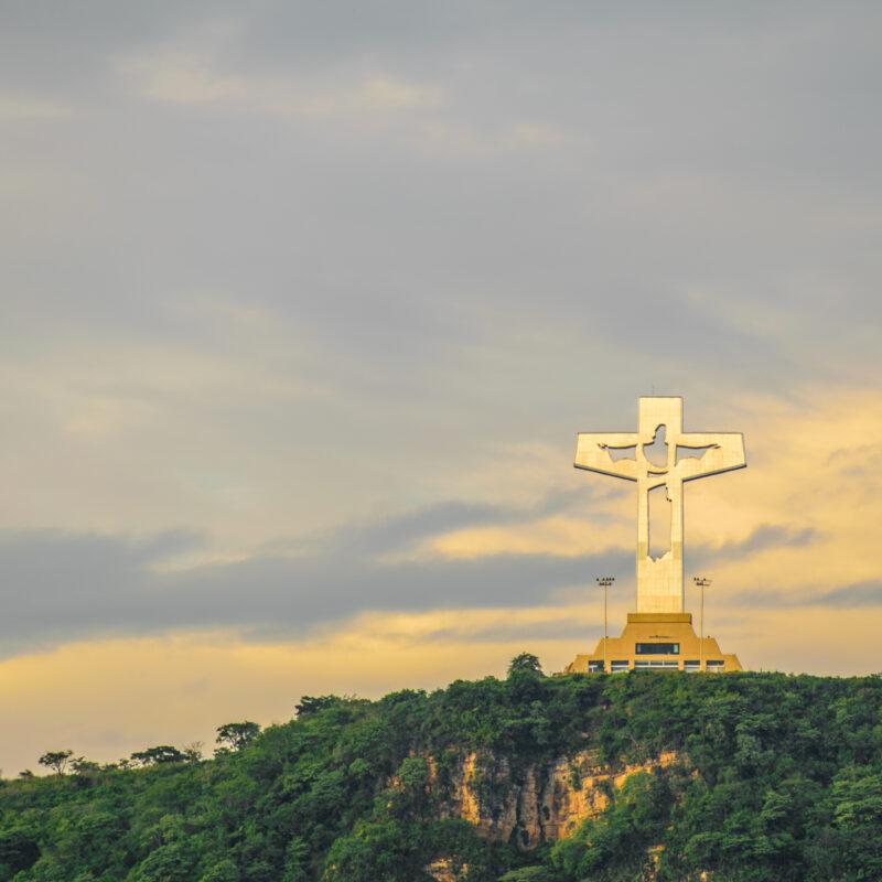 Copoya's Christ in Tuxtla, Mexico.
