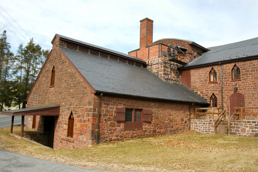 Cornwall Iron Furnace in Pennsylvania.
