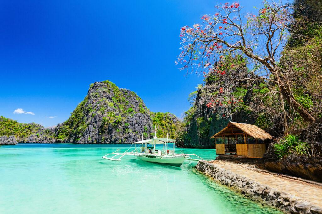 Coron Island in the Philippines.