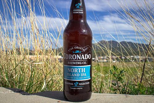 Coronado Brewing Company beer.