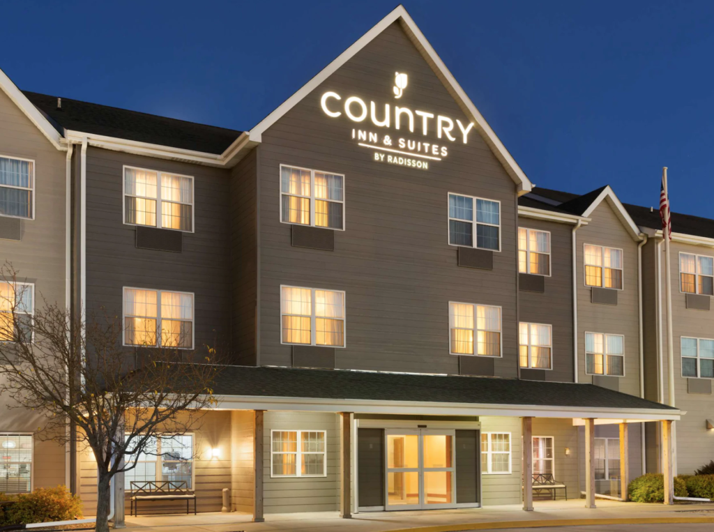 Country Inn and Suites in Kearney, Nebraska.