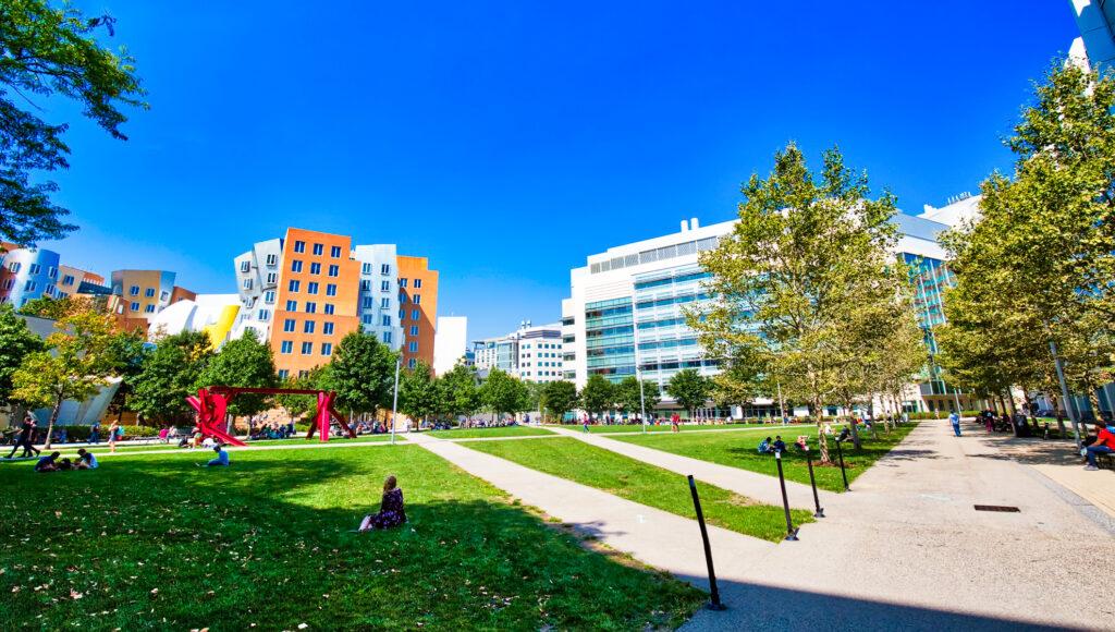 Courtyard at MIT in Boston