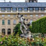 Courtyard in Palais Royal.
