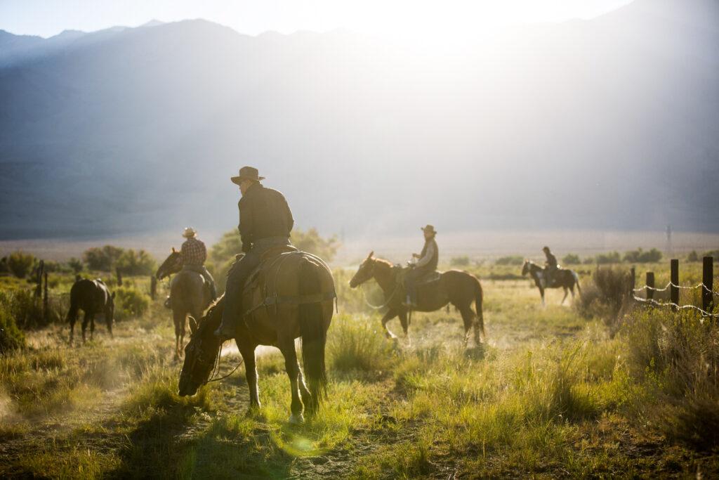 Cowboys in Sedona, Arizona.
