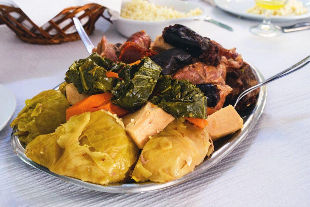 Cozido de Furnas from Portugal.