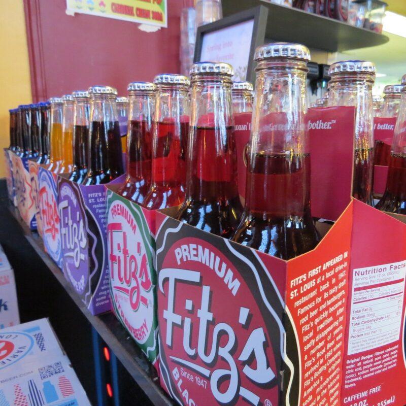 Craft root beer, Fitz's, St. Louis.