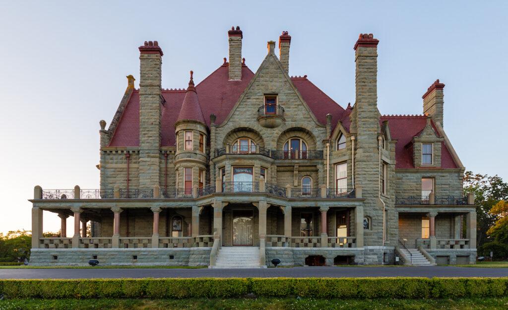 Craigdarroch Castle, Victoria, British Columbia, Canada.