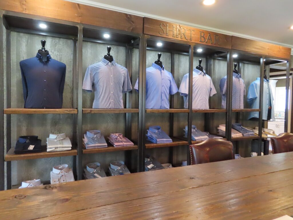 Create a custom shirt at Little River Clothing.
