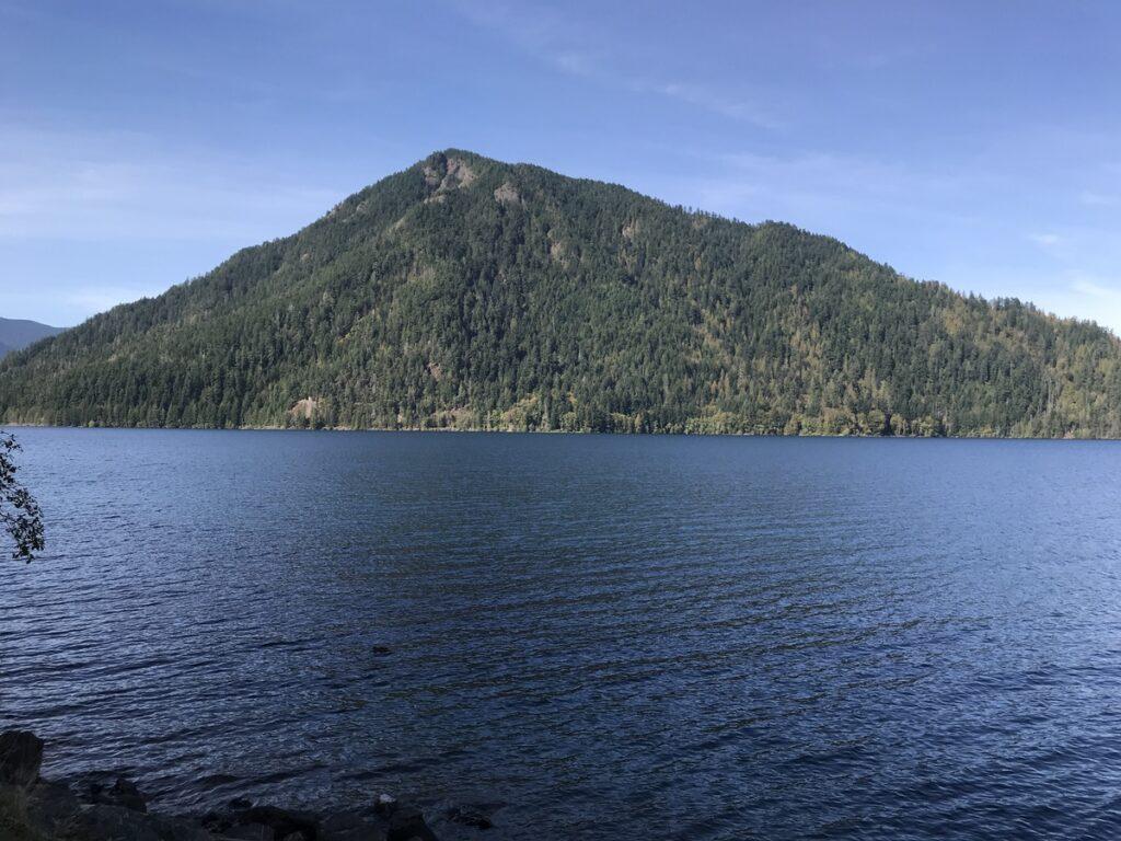 Crescent Lake in Washington's Olympic Peninsula.