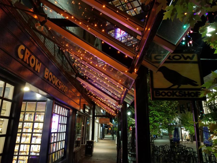 Crow Bookshop in Burlington, Vermont.