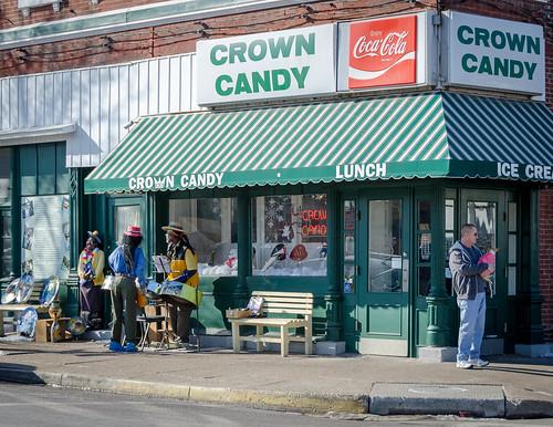 Crown Candy Kitchen in Saint Louis.
