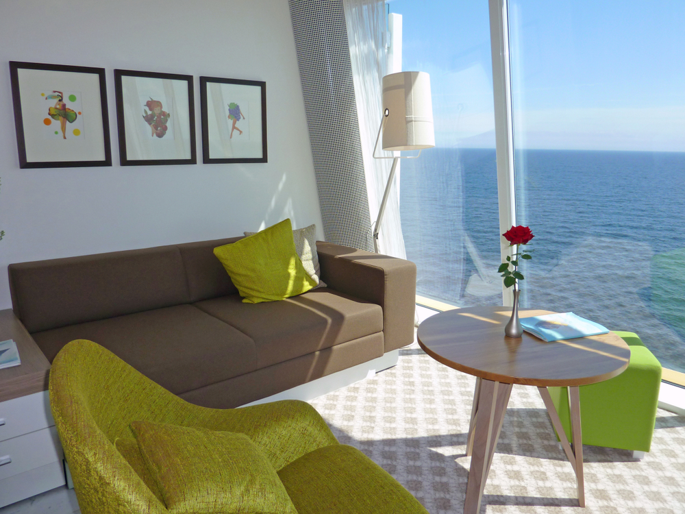 cruise ship living room
