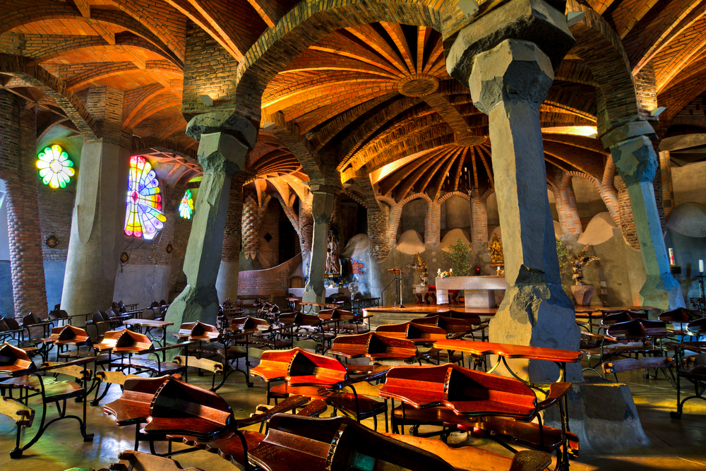 crypt of colonia guell