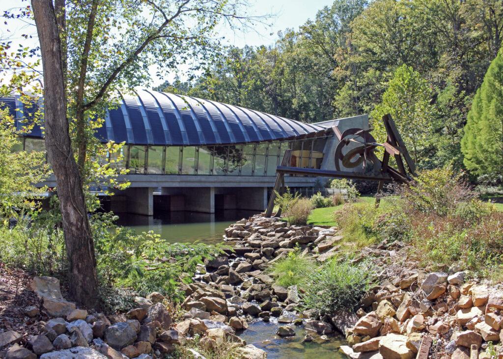 Crystal Bridges Museum of American Art in Bentonville, Arkansas.