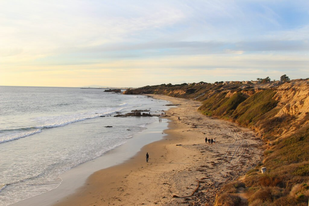 Crystal Cove State Park in California.