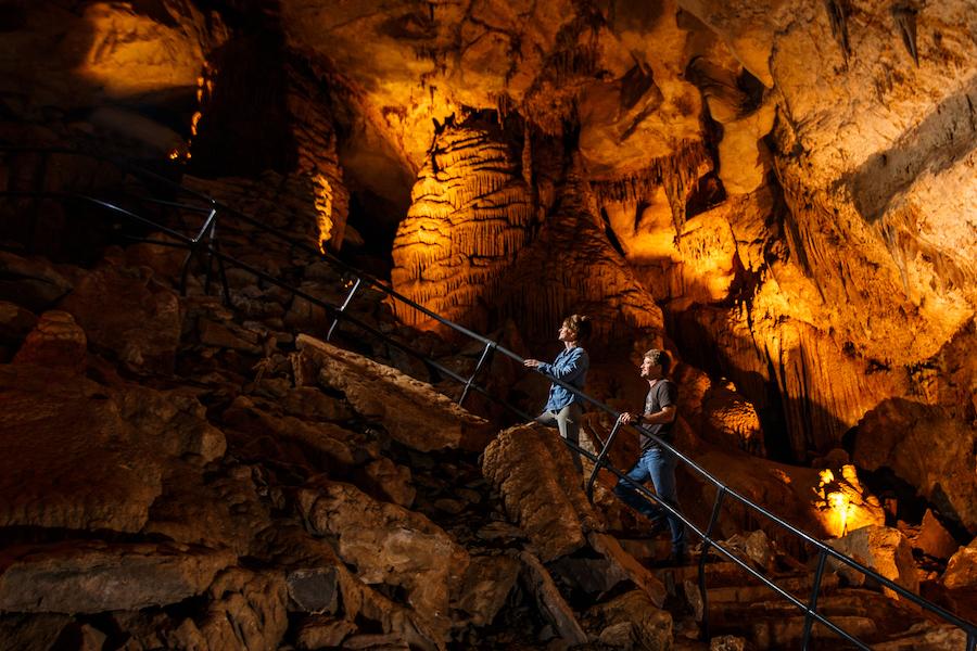 Cumberland Caverns near McMinnville, Tennessee.