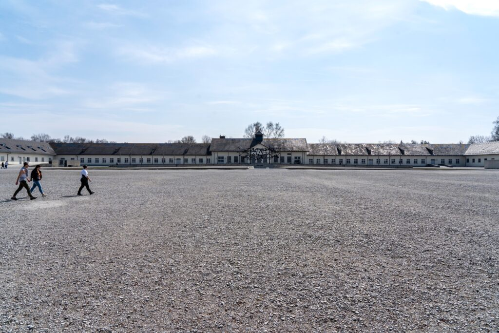 Dachau Concentration Camp in Germany.