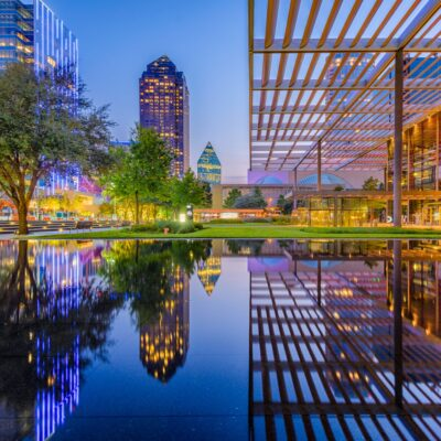 Dallas Arts District, Dallas, Texas.