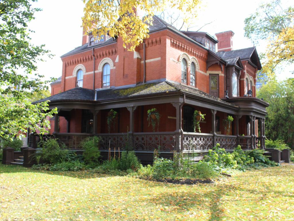 Dalnavert Museum old red house Winnipeg