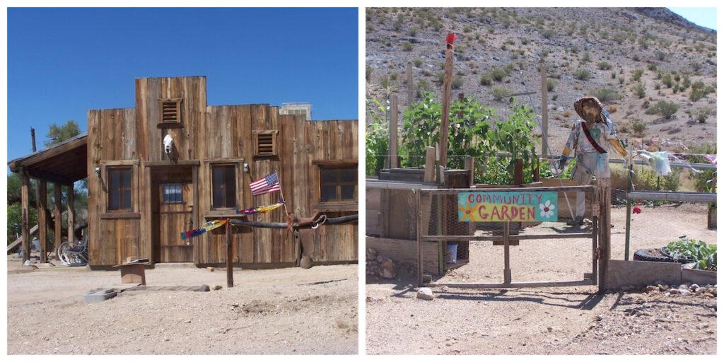 Darwin-Buck's Cabin Under The High Desert Stars in California.
