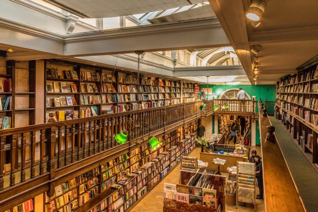Daunt Books in Marylebone.