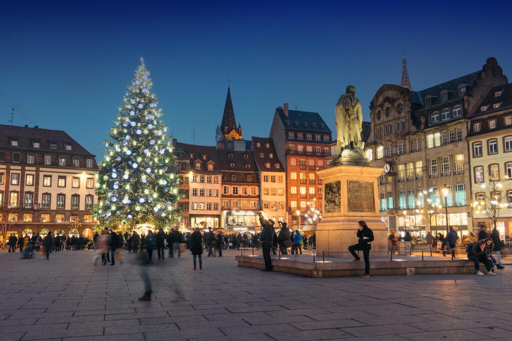 December in Strasbourg, France.