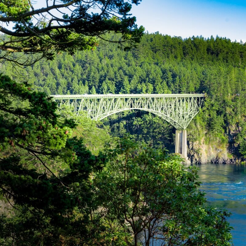 Deception Pass, a day trip from Seattle, Washington.