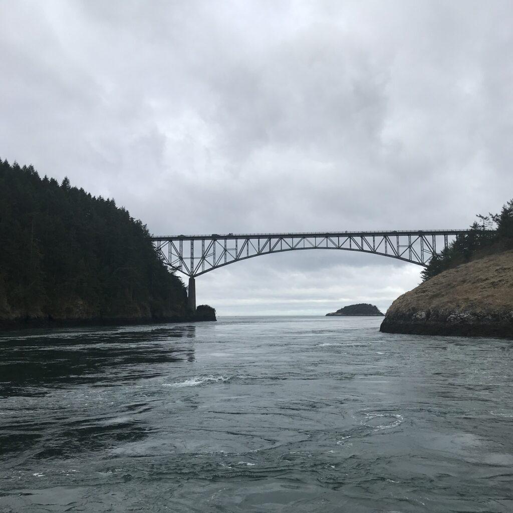 Deception Pass near Seattle, Washington.
