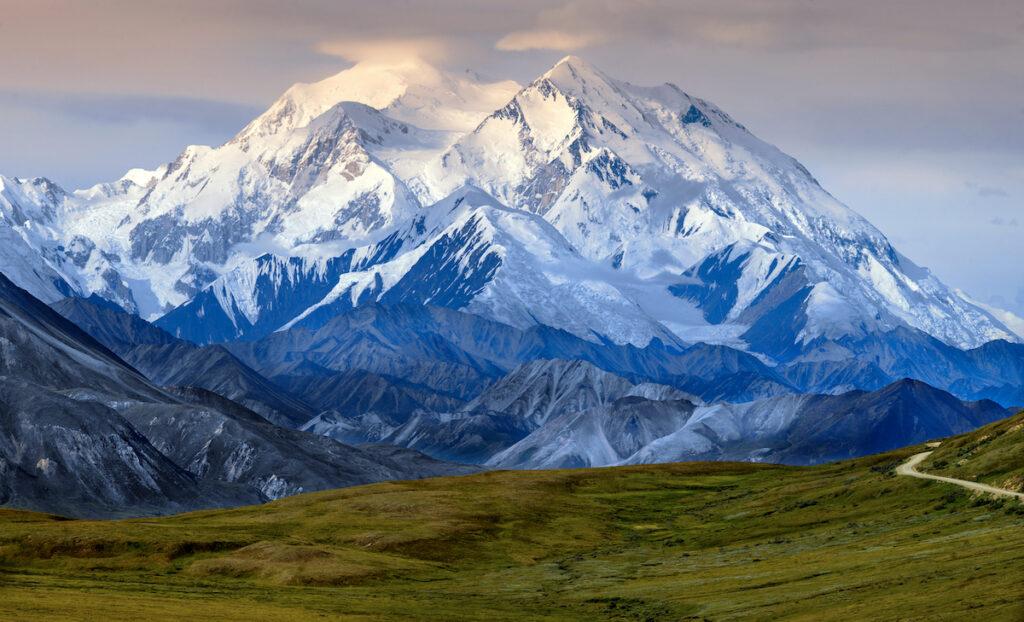 Denali, or Mt. McKinley, in Alaska.