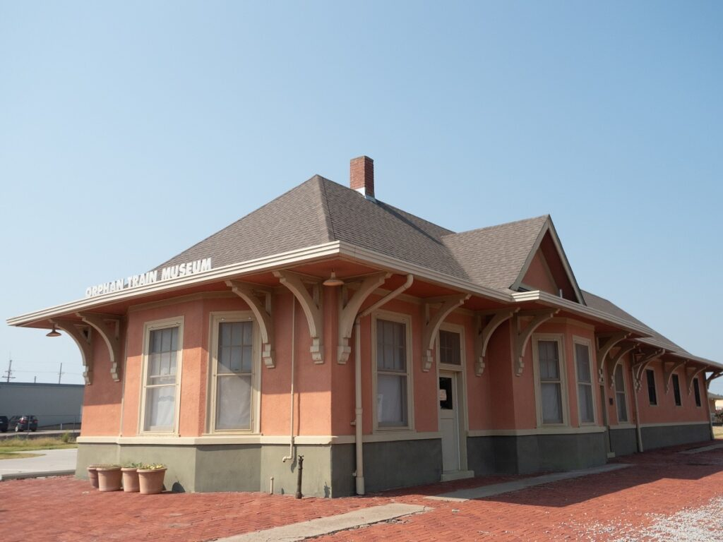 Depot At The National Orphan Train Complex.