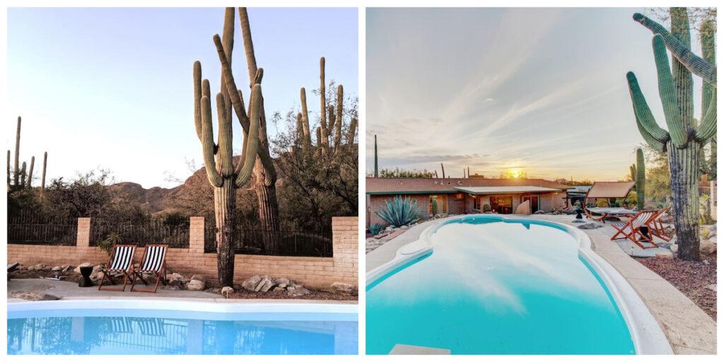 Desert Vibrations Private Retreat in Tucson, Arizona.