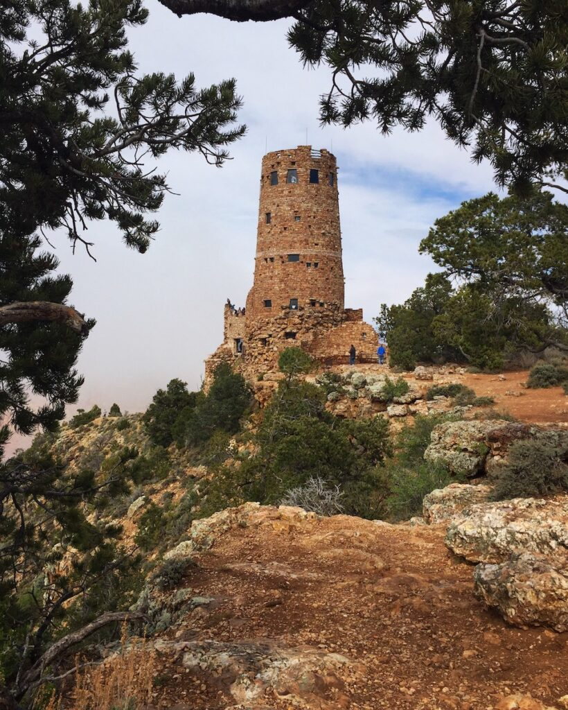 Desert View Watchtower.
