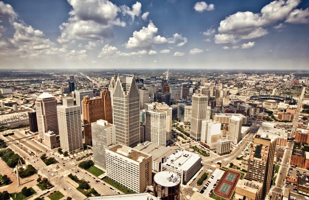 Detroit in Michigan.
