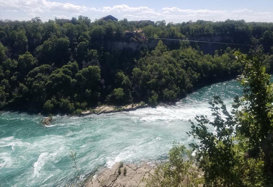 Devil's Hole State Park near Niagara Falls.