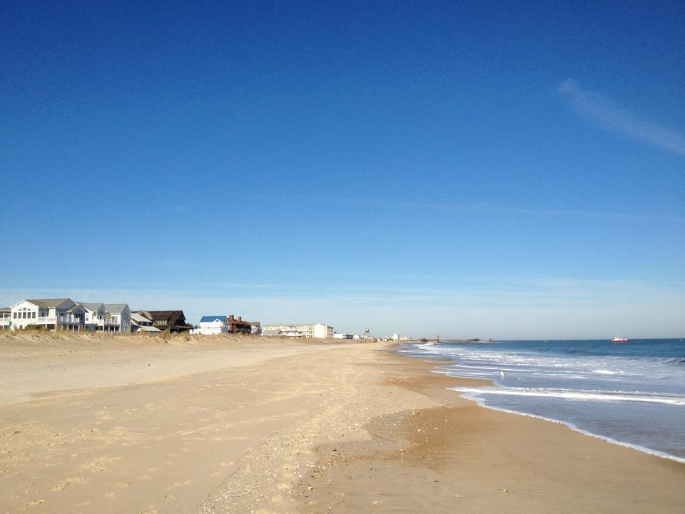 Dewey Beach in Delaware.