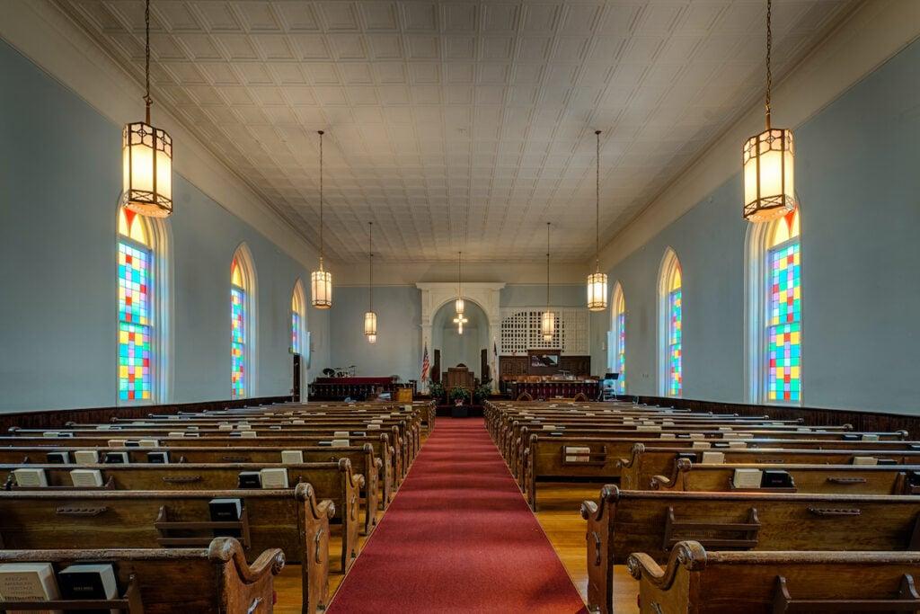 Dexter Avenue King Memorial Baptist Church in Montgomery, Alabama.