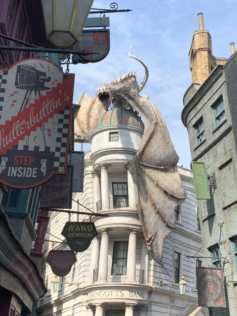 Diagon Alley at Universal Studios Orlando.