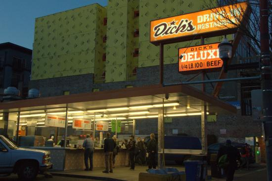 Dick's Drive-In diner Seattle