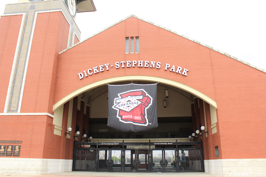 Dickey-Stephens Park in Little Rock, Arkansas.