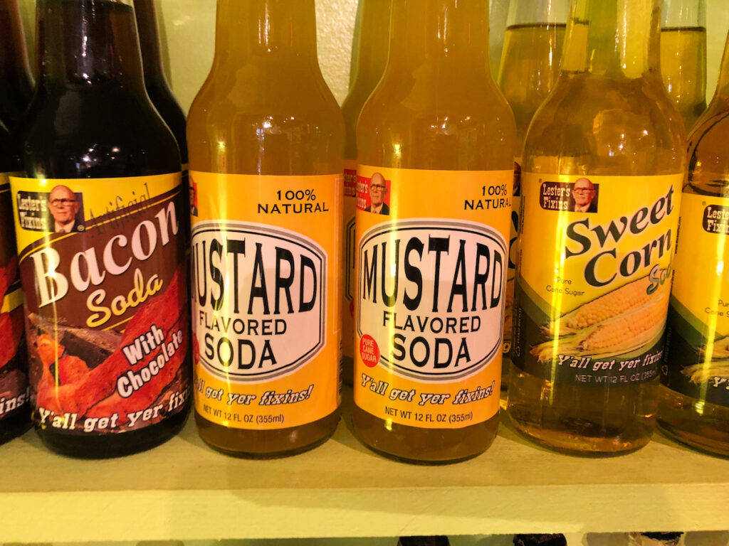 Different flavored sodas from Candyology.