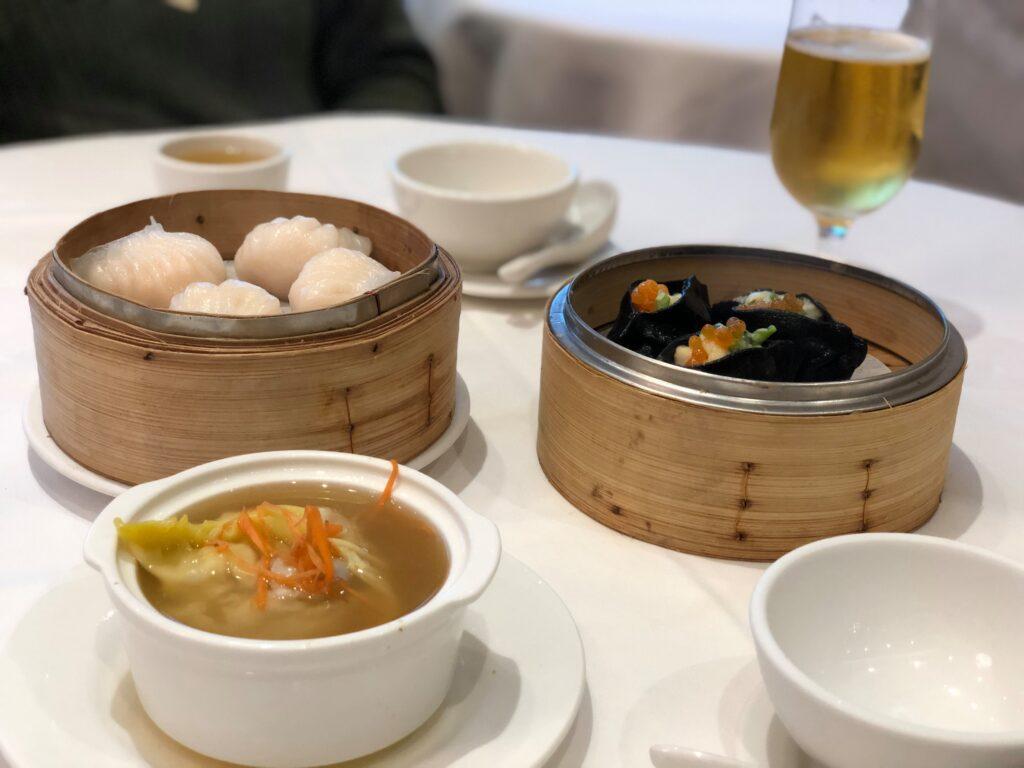 Dim sum Dynasty Seafood Restaurant.