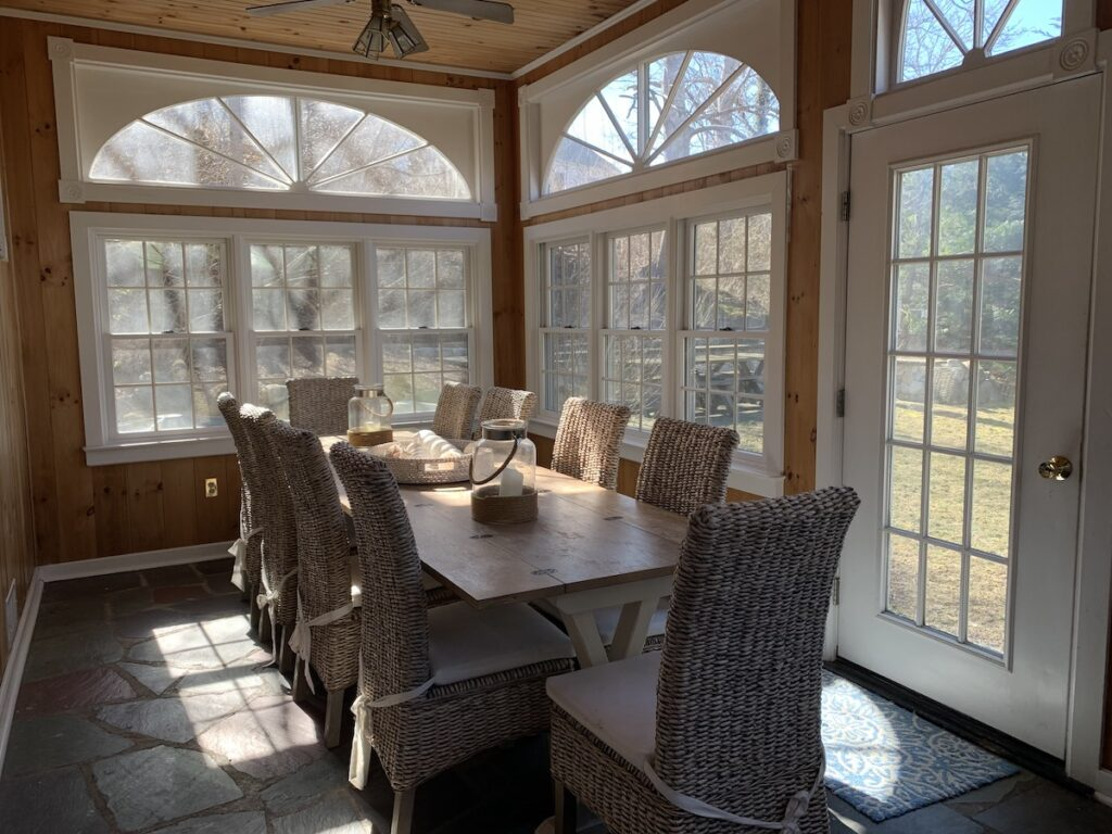 Dining area at Amazing Family Friendly In-Town.