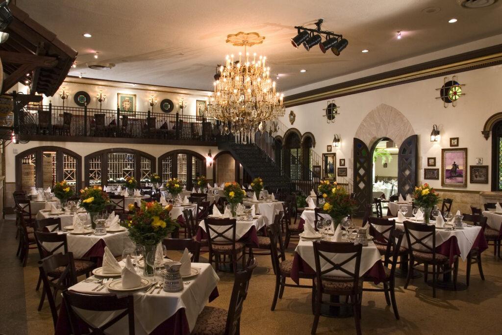 Dining room of Columbia Restaurant, Ybor City, Tampa.