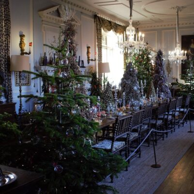 Dinning Room at Doddington Hall in Lincolnshire, England.