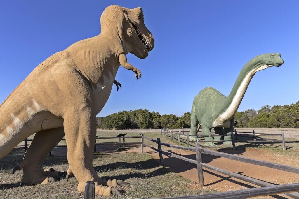 Dinosaur Valley State Park near Glen Rose, Texas.