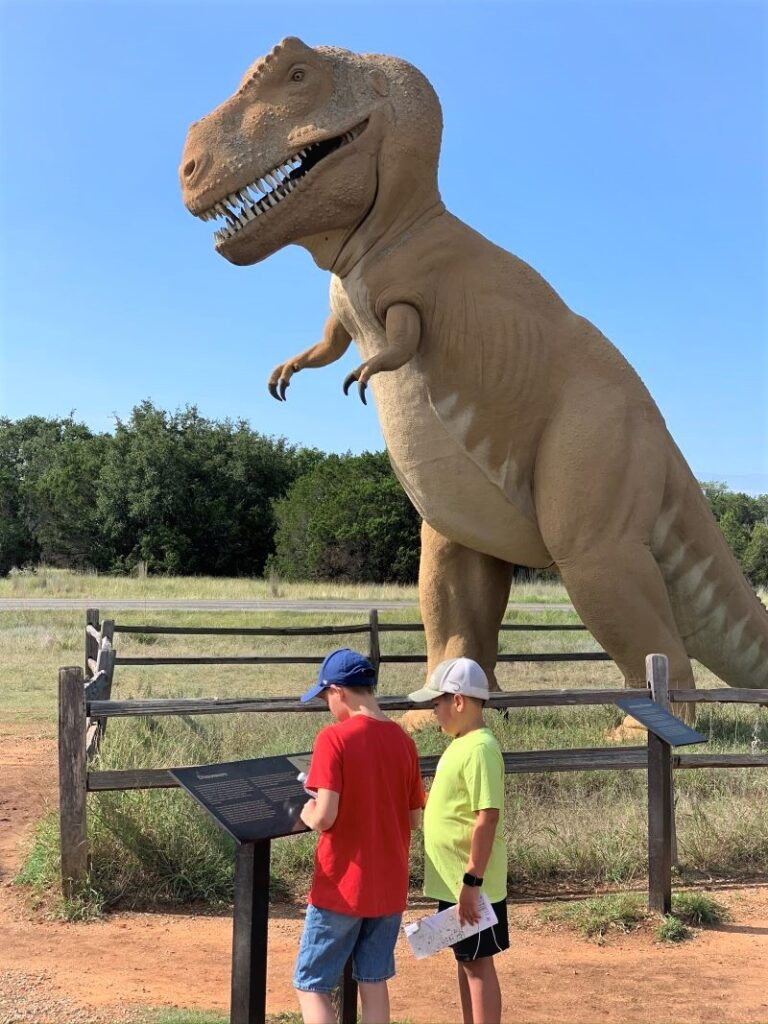 Dinosaur Valley State Park.