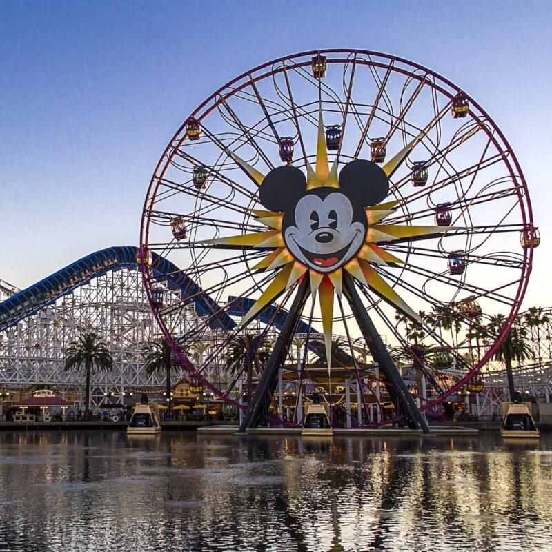 Disney California Adventure Park in Anaheim.